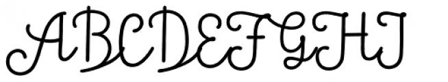 Tropen Script Font UPPERCASE