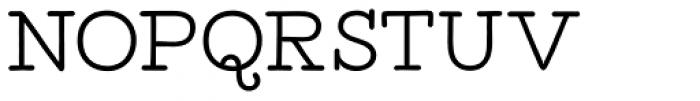 Tropen Serif Font UPPERCASE