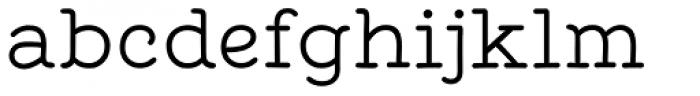 Tropen Serif Font LOWERCASE