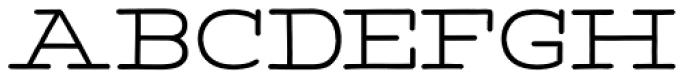 Tropen Wide Font UPPERCASE