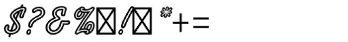 Tropica Script Std Font OTHER CHARS