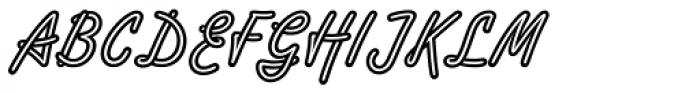 Tropica Script Std Font UPPERCASE