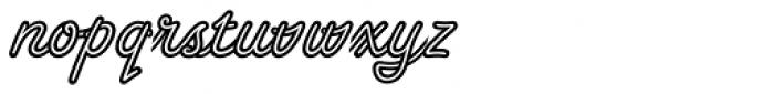 Tropica Script Std Font LOWERCASE