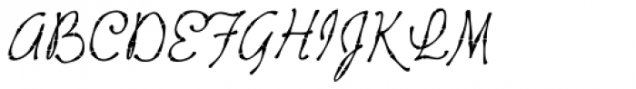 Tropicali Script BTN Bamboo Italic Font UPPERCASE