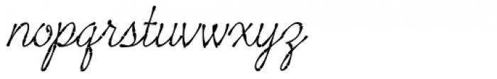 Tropicali Script BTN Bamboo Italic Font LOWERCASE