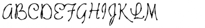 Tropicali Script BTN Bamboo Font UPPERCASE