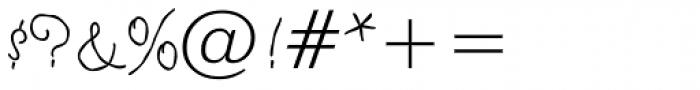 Tropicali Script BTN Rough Font OTHER CHARS