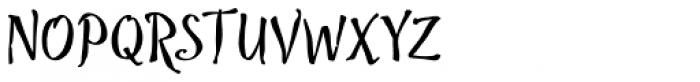 Troubadour Font UPPERCASE
