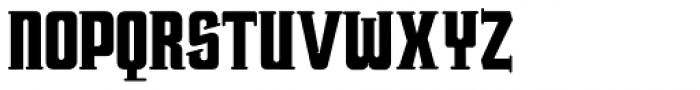 Trucker Font UPPERCASE
