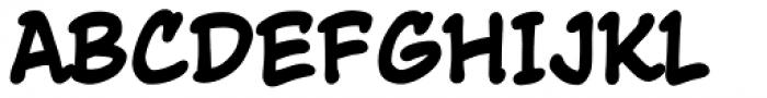 True Believer Bold Font UPPERCASE