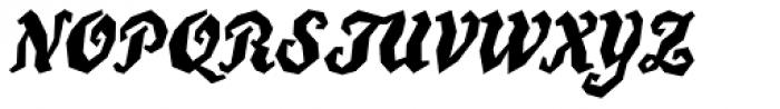 True Grit Std Font UPPERCASE