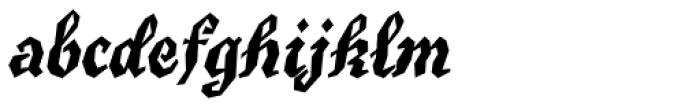 True Grit Std Font LOWERCASE