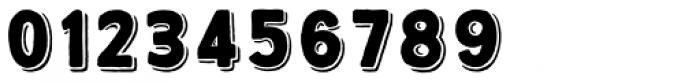 True North 3D Black Font OTHER CHARS