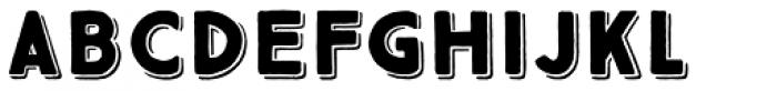 True North 3D Black Font LOWERCASE