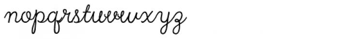 True North Script Font LOWERCASE
