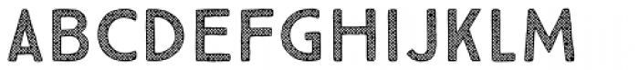 True North Textures Five Font LOWERCASE