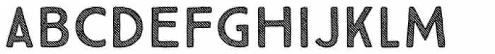 True North Textures Three Font LOWERCASE