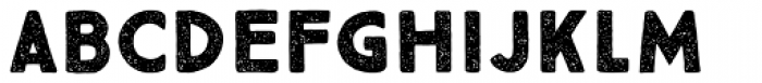 True North Textures Two Bold Font LOWERCASE