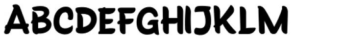 Truffaux Pro Font LOWERCASE