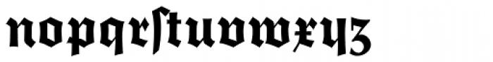 Trump Deutsch Heavy Font LOWERCASE