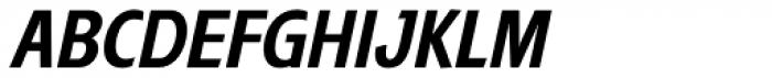 Trumpet Condensed Italic Font UPPERCASE