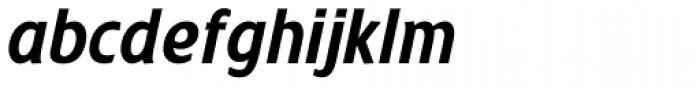 Trumpet Condensed Italic Font LOWERCASE
