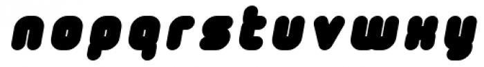Tryptomene Black Oblique Font LOWERCASE