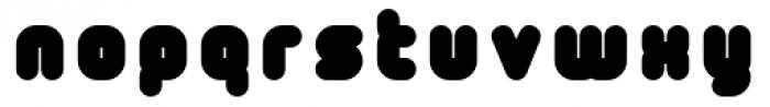 Tryptomene Black Font LOWERCASE