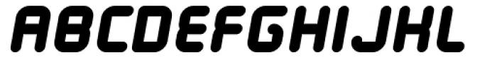 Tryptomene Bold Oblique Font UPPERCASE