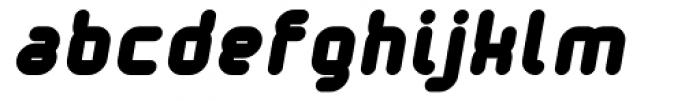 Tryptomene Bold Oblique Font LOWERCASE