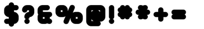 Tryptomene ExtraBold Font OTHER CHARS