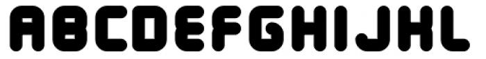 Tryptomene ExtraBold Font UPPERCASE