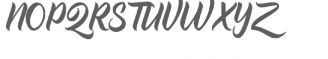 Trademark Font UPPERCASE