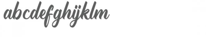 Trademark Font LOWERCASE