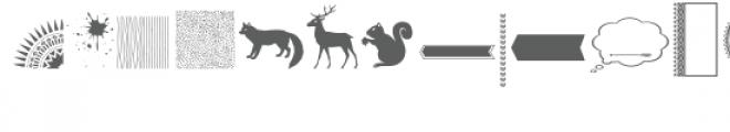 tribal doodlebat font Font LOWERCASE