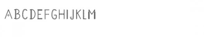 tribalmono Font UPPERCASE