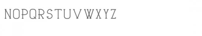 tribalmono Font LOWERCASE