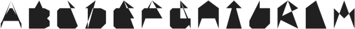 TS Device otf (400) Font UPPERCASE