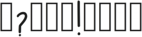 Tsf Ophelia Regular otf (400) Font OTHER CHARS