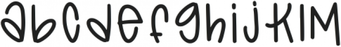 Tsf Ophelia Regular otf (400) Font LOWERCASE