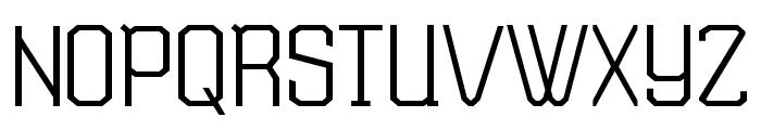 TSGActie-Regular Font UPPERCASE