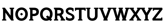 TSGRomulus-Bold Font UPPERCASE