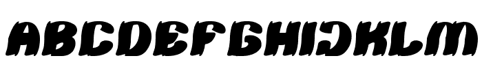TSHIRT Font UPPERCASE