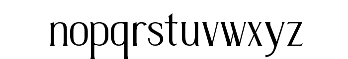 TSIQUILISDA OLD Font LOWERCASE