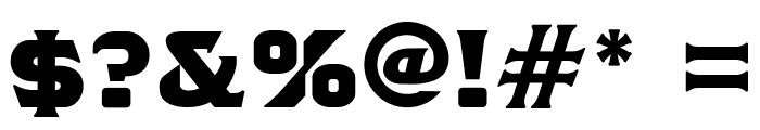 TSIYUGUNSINI Font OTHER CHARS