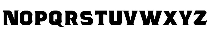 TSIYUGUNSINI Font UPPERCASE