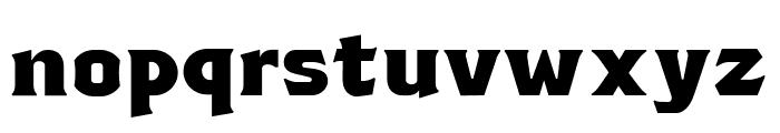 TSIYUGUNSINI Font LOWERCASE