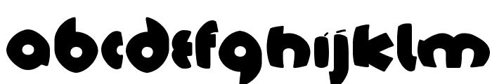 TschichFS-Black Font LOWERCASE