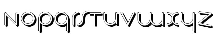 TschicholdsShades Font LOWERCASE