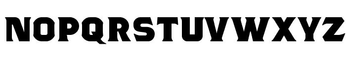 Tsiyu gunsini Font UPPERCASE